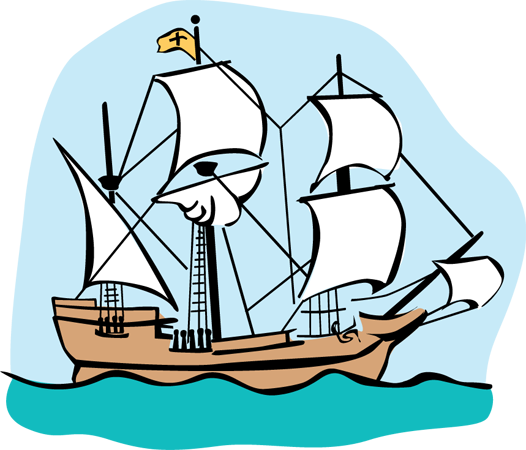 Mayflower Clipart   Clipart Best