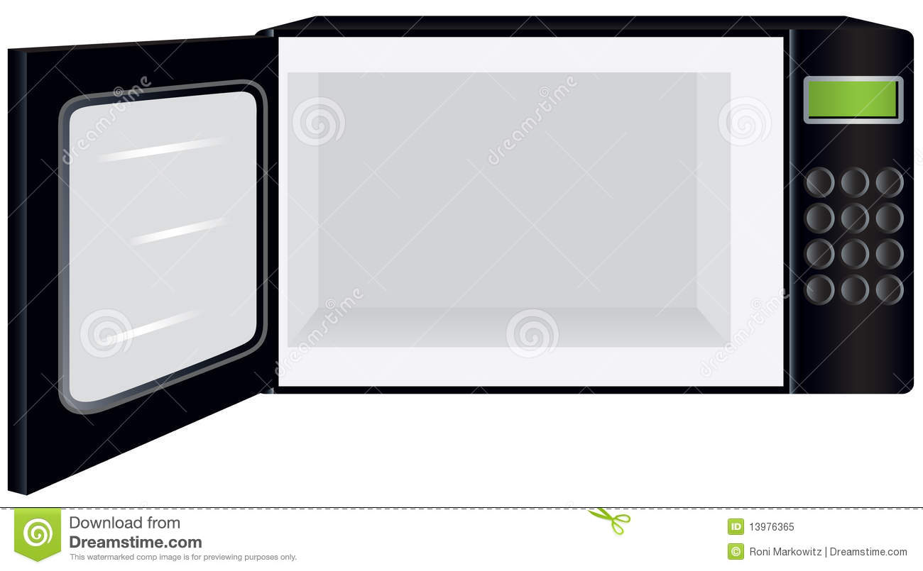 Image Gallery Open Microwave