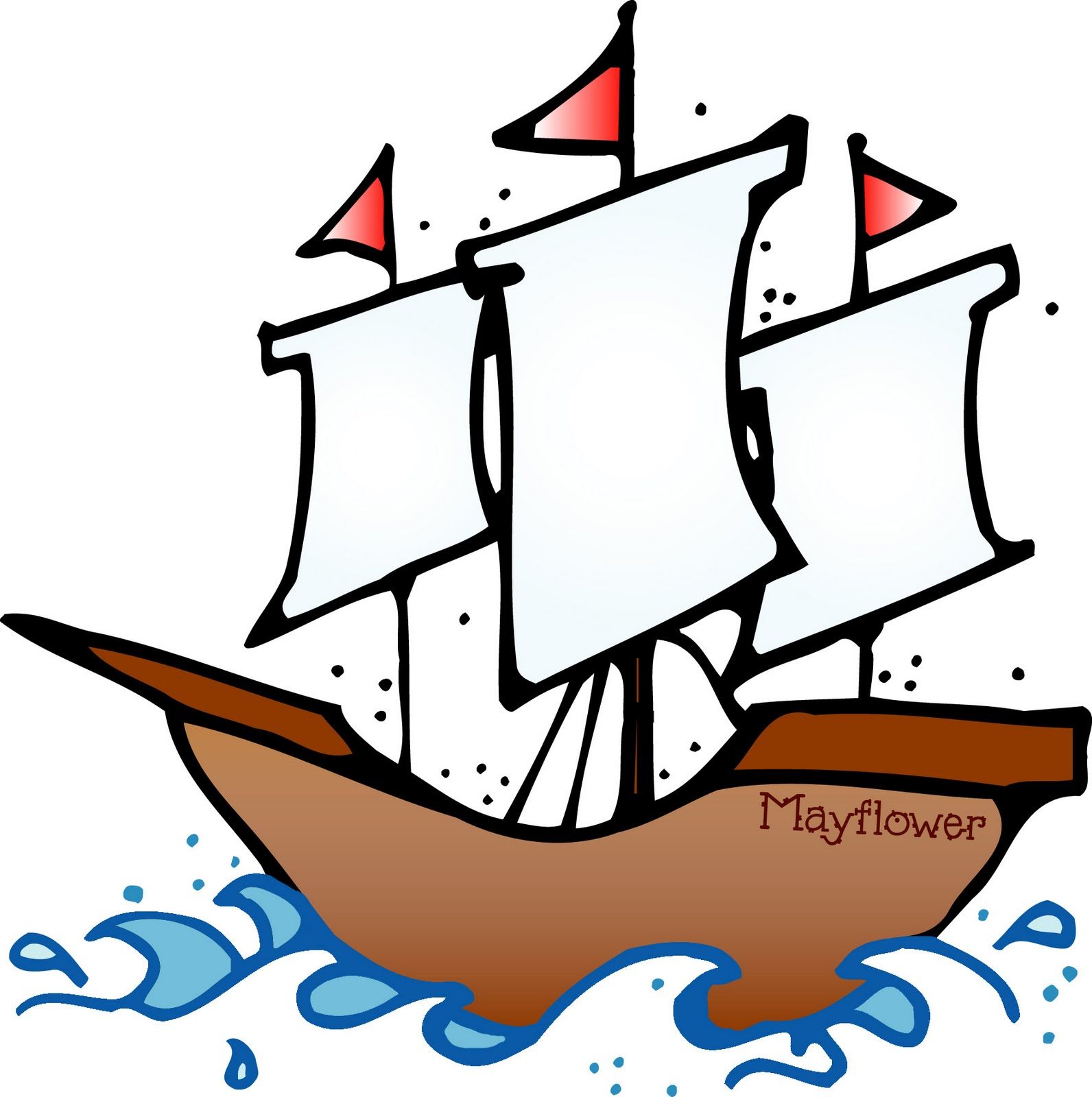 Pix For   Mayflower Clipart