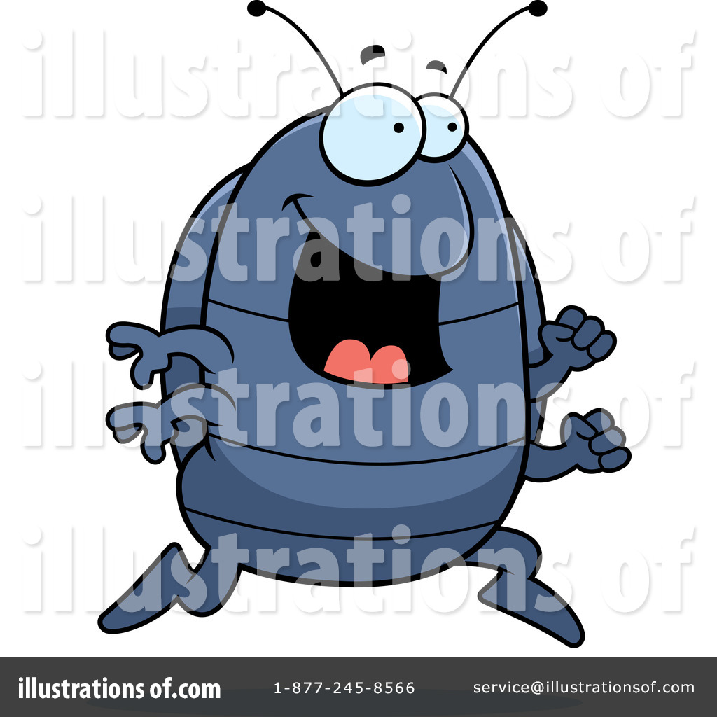 Royalty Free  Rf  Pill Bug Clipart Illustration By Cory Thoman   Stock