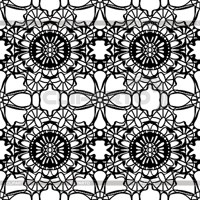 Simple Lace Pattern   Stock Vector Graphics   Cliparto