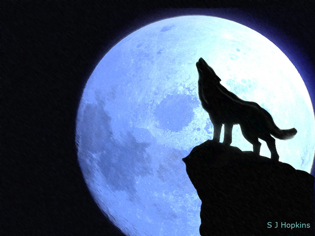 Wolf Howling At The Moon Free Cliparts That You Can Download To You