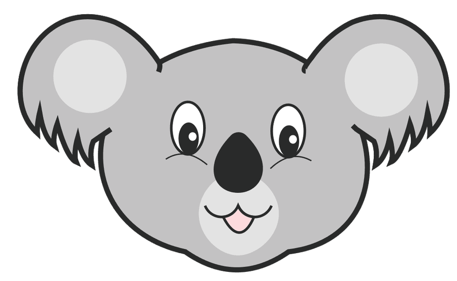 Bear Clipart   Bear Cute Fave Head Koala Koala Bear   Pro Clip