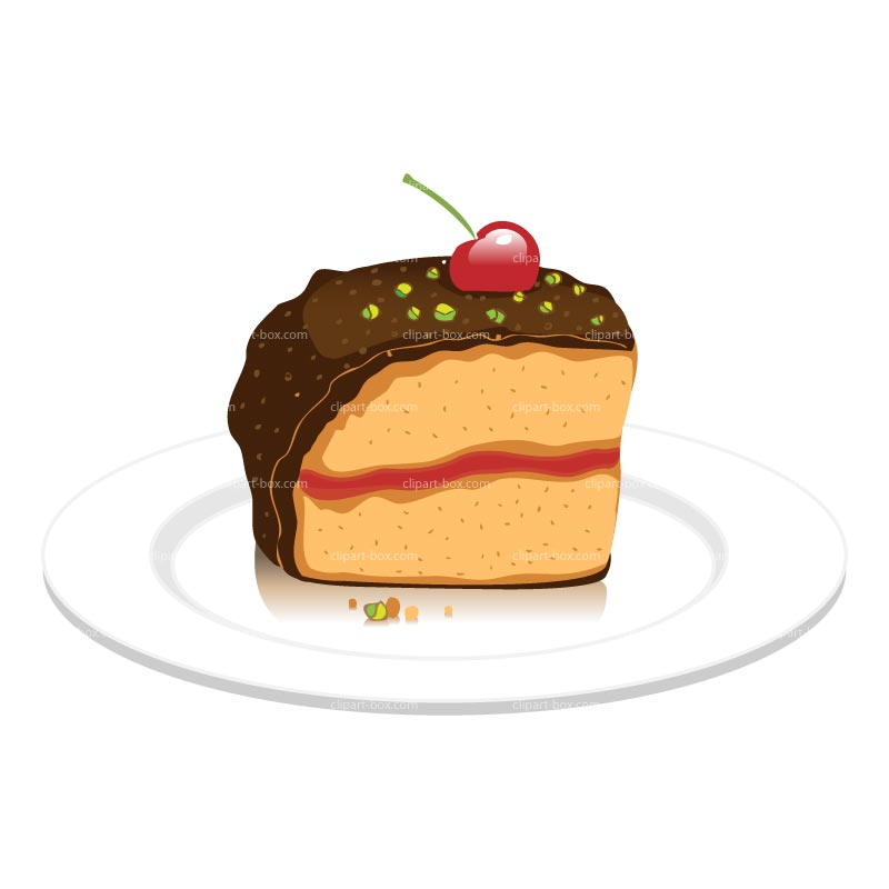 Piece Of Cake Clipart - Clipart Kid