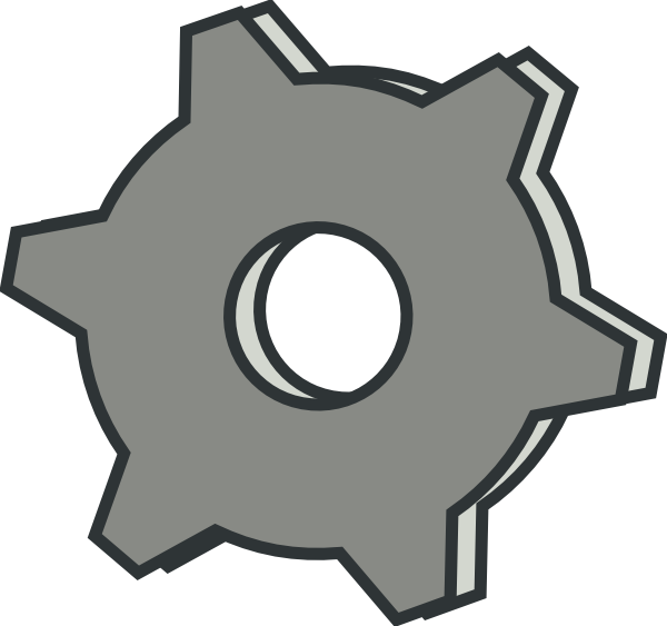 Machine Clipart Gear Hi Png
