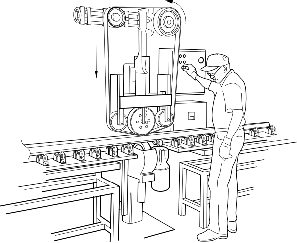 Rail Polishing Machine Clip Art At Clker Com   Vector Clip Art Online