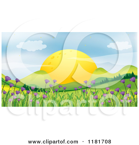 Royalty Free  Rf  Valley Clipart Illustrations Vector Graphics  1