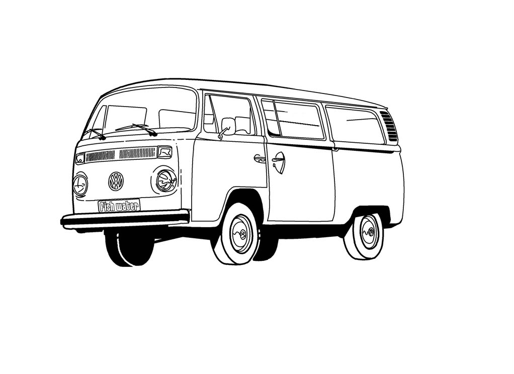 Crystal Lake Vw >> Vw Van Clipart - Clipart Suggest