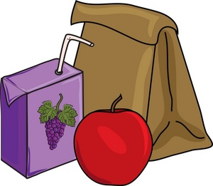Brown Bag Lunch Clip Art