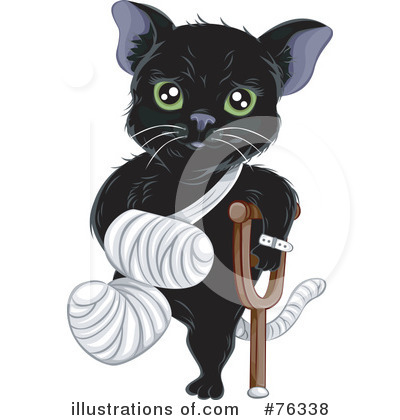 Cat Clipart  76338 By Bnp Design Studio   Royalty Free  Rf  Stock