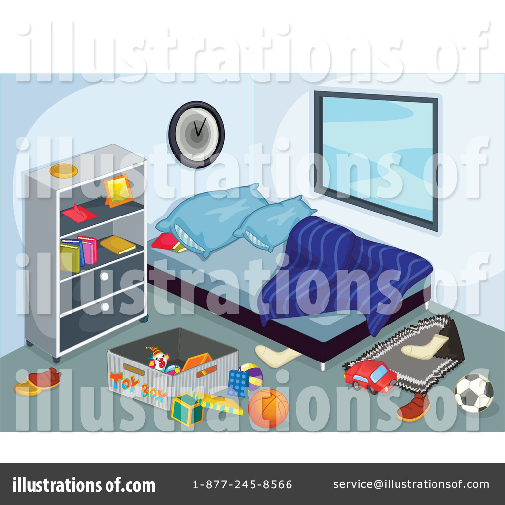 Clean Up Bedroom Clipart Royalty Free  Rf  Bedroom