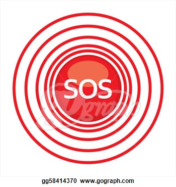 Clipart   Sos Need Help  Stock Illustration Gg58414370