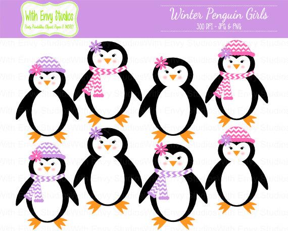 Clip Art Baby Penguin Cute Clipart - Clipart Kid