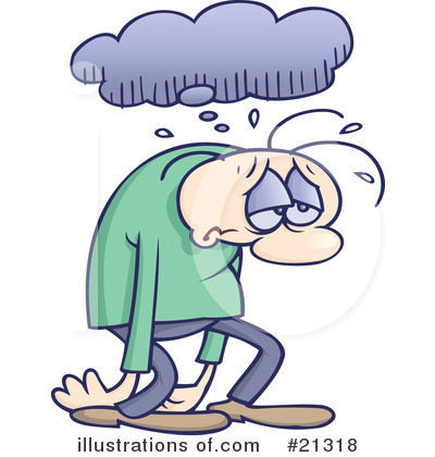 Clip Art Depressed People Clipart - Clipart Kid