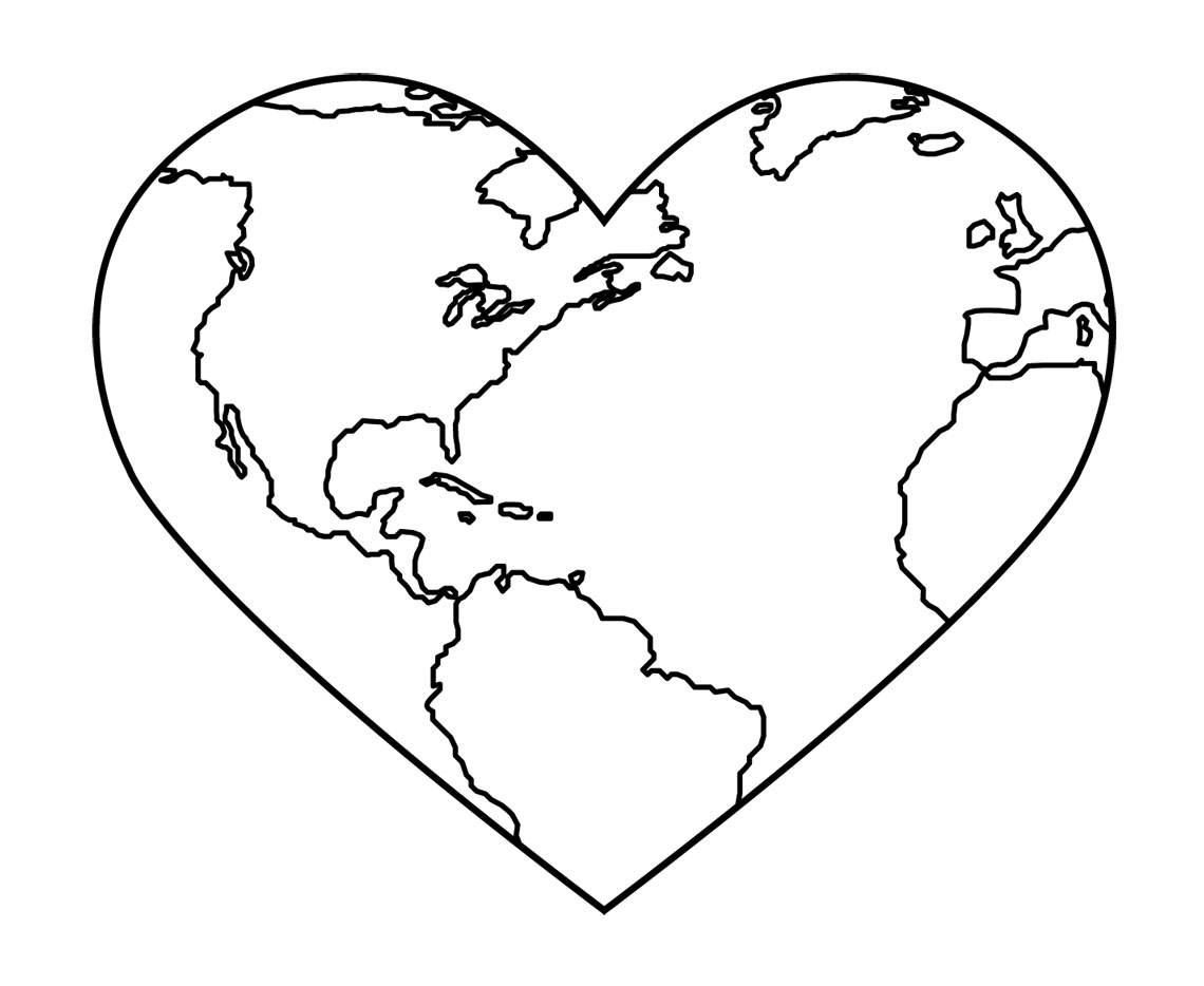 Earth Day Clipart Black And White   Clipart Panda   Free Clipart