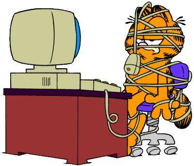 Garfield Monday Clipart - Clipart Kid