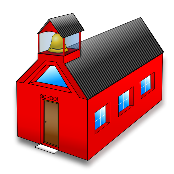 Free To Use   Public Domain School Building Clip Art