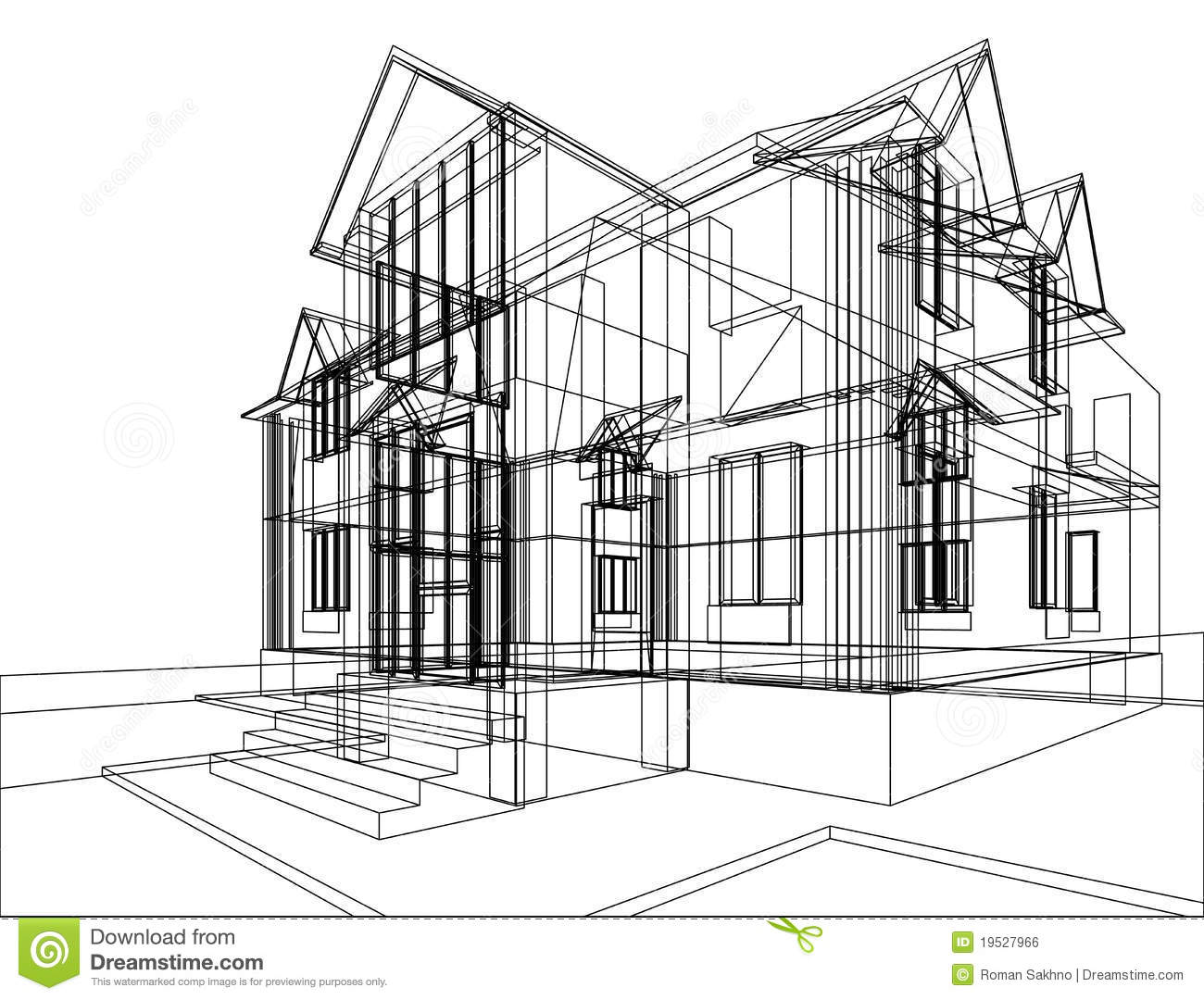 House Construction Clipart House Construction Sketch