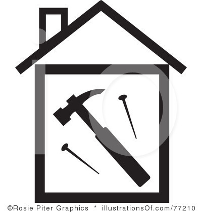 House Construction Clipart Royalty Free House Clipart Illustration