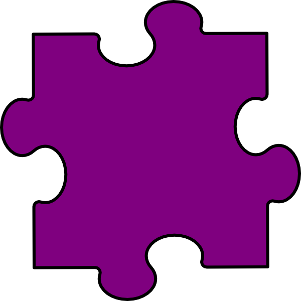Puzzle Piece Clipart - Clipart Kid