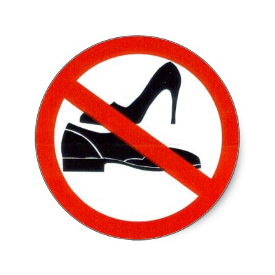 No Shoes Clipart - Clipart Kid
