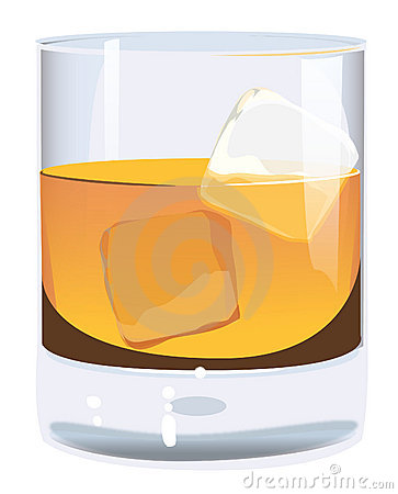 Whiskey Clipart Scotch Rocks Stock Illustrations Vectors   Clipart