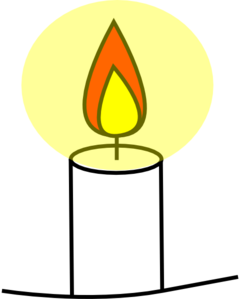 Candle Clip Art At Clker Com   Vector Clip Art Online Royalty Free