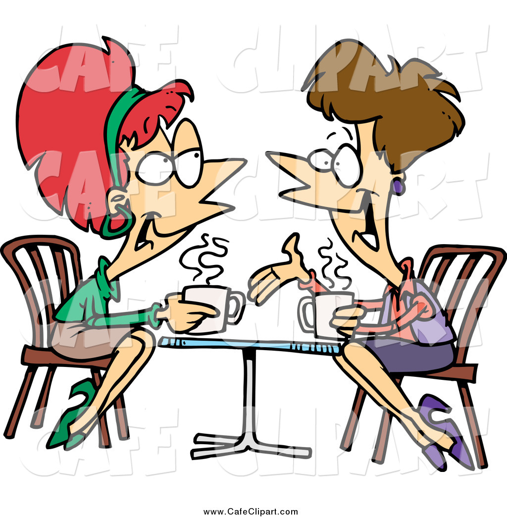 coffee group talking clipart clipart suggest