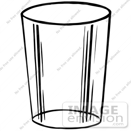 Cup Clipart Black And White   Clipart Panda   Free Clipart Images