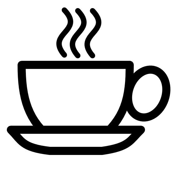 Cup Clipart Black And White Coffee Cup Icon Black White Line Pitr