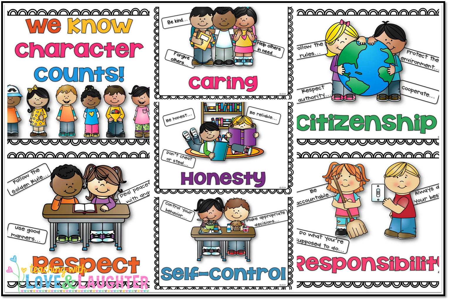 Displaying 18  Images For   Good Behavior In School Clip Art
