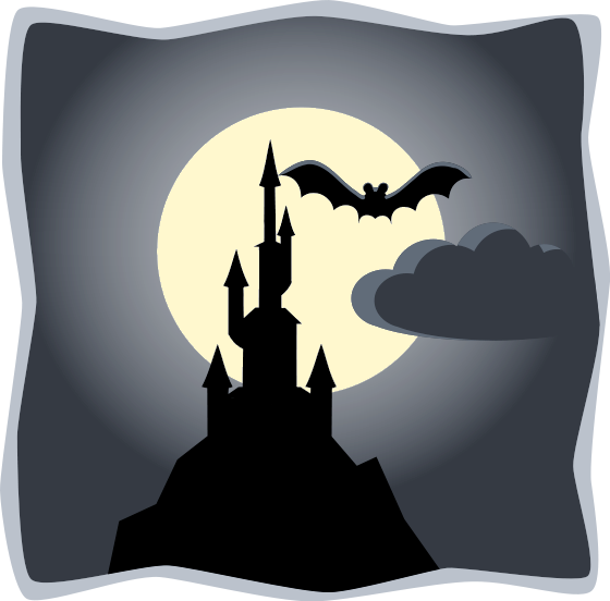 Free Clipart Of Full Moon Clipart Of A Halloween Night With