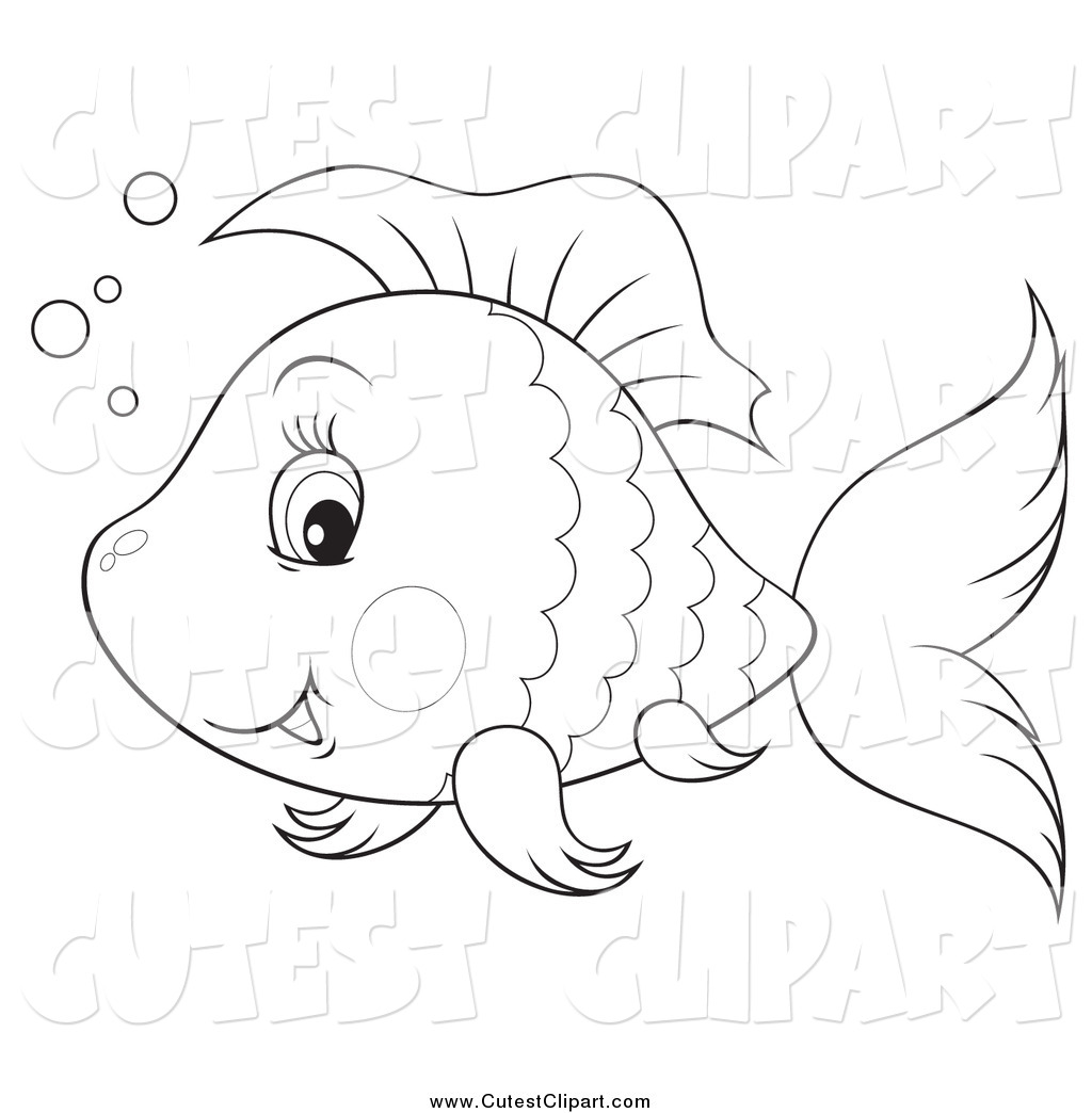 Happy Black And White Fish And Bubbles Cute Happy Whale Shark And Fish
