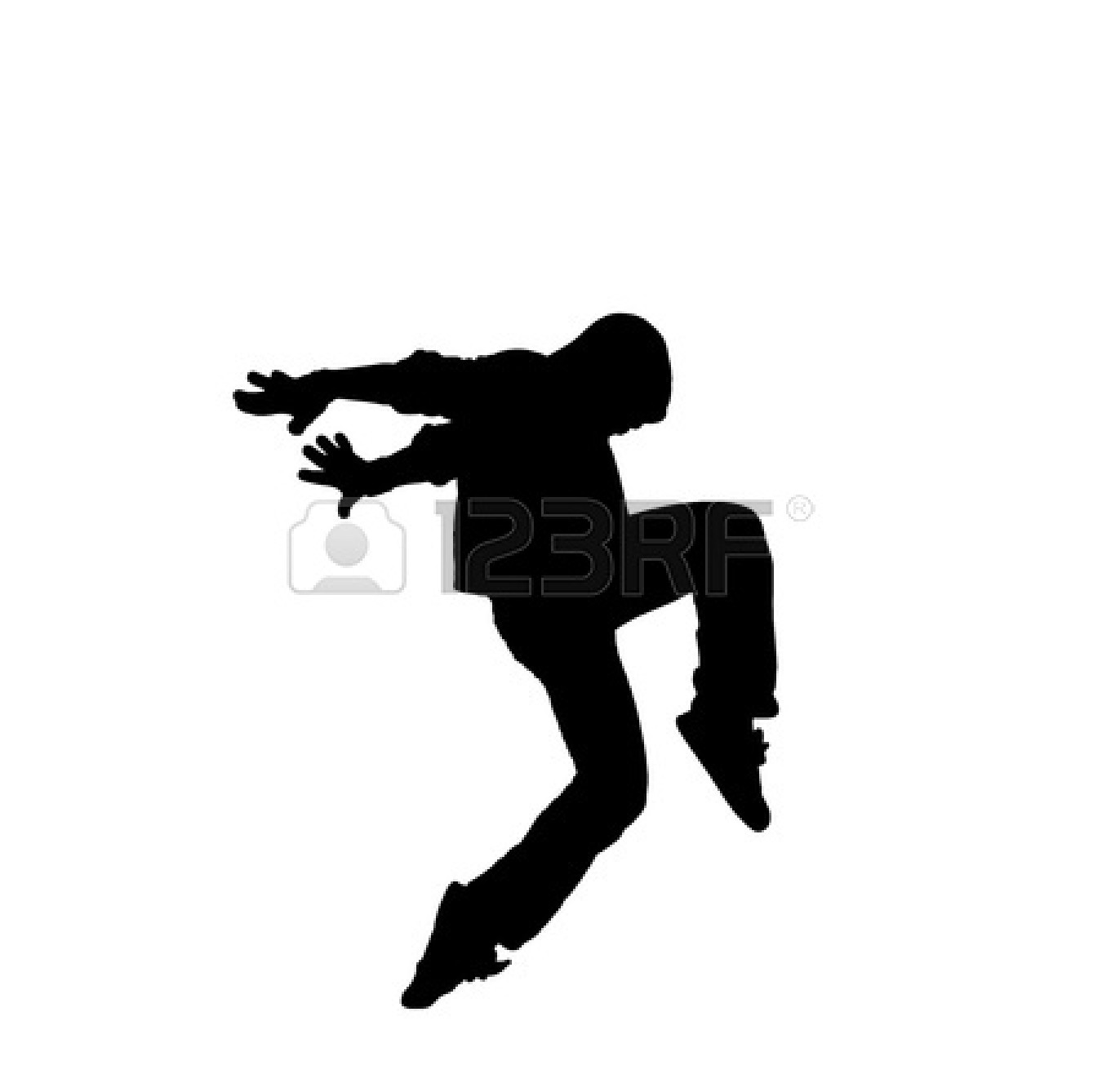 Hip Hop Black And White Clipart - Clipart Kid