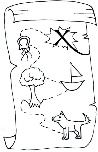 map clipart black and white - photo #3