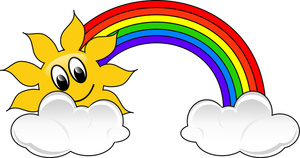 Rainbow Clip Art Images Rainbow Stock Photos   Clipart Rainbow