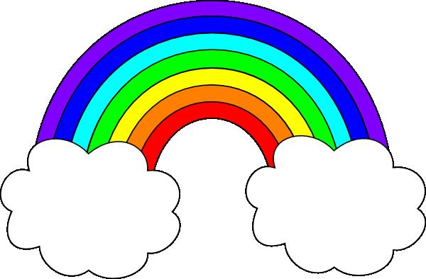 Animated Rainbow Clip Art