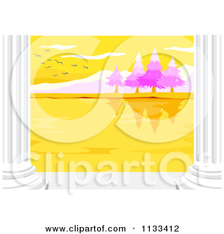 Royalty Free  Rf  Illustrations   Clipart Of Columns  2