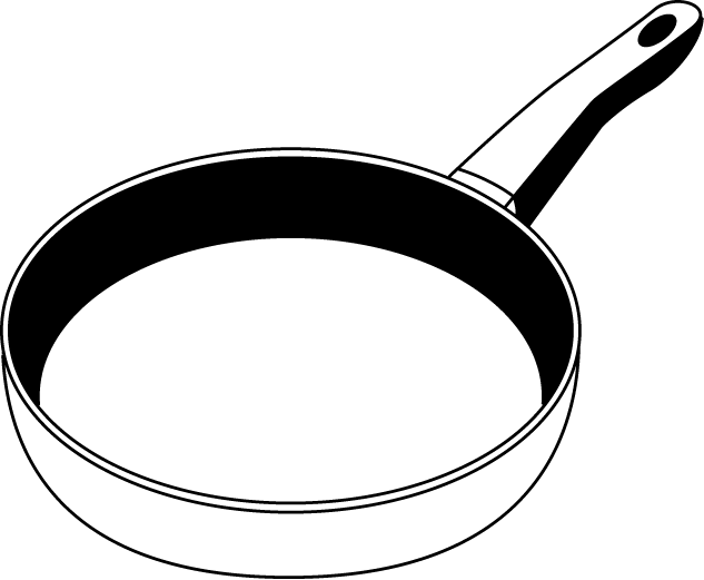 Pan Black And White Clipart - Clipart Suggest
