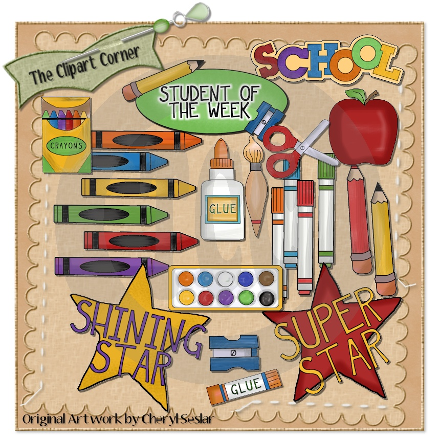 The Clipart Corner  Student Of The Week Clip Art