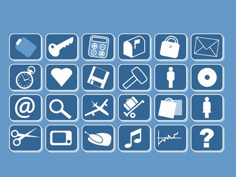 We Have A Range Of 94 Small Clip Art Icons To Use In Your