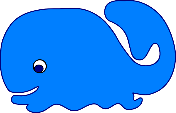 Whale Clip Art At Clker Com   Vector Clip Art Online Royalty Free