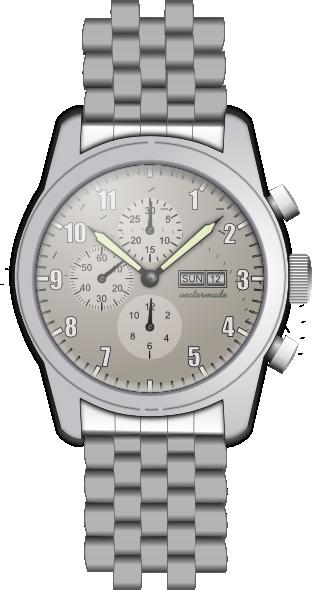 Wrist Watch 2 Clip Art At Clker Com   Vector Clip Art Online Royalty