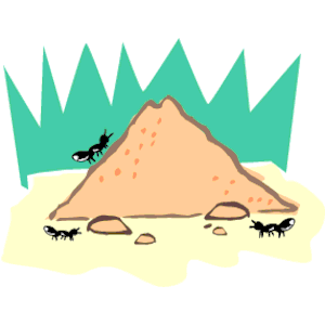Ant Hill Clipart   Free Clip Art Images