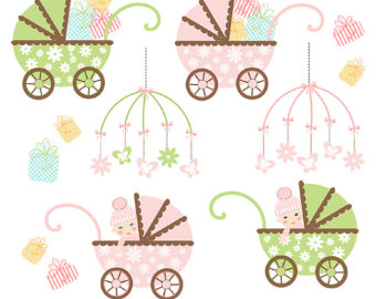 Baby Girl Stroller Toy Mobile Gifts A505  Unique Clipart Download For