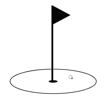 Golf Flag Clipart - Clipart Suggest Golf Hole Clip Art