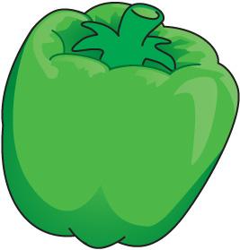 Green Pepper Clip Art