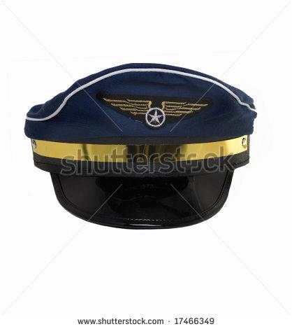 Pilot Hat Clipart Pilot S Hat   Stock Photo