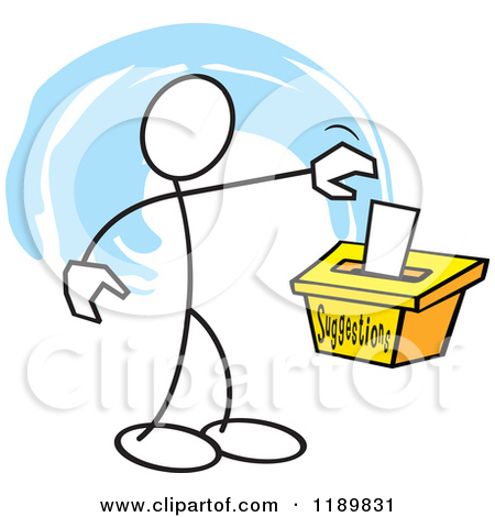 Royalty Free  Rf  Suggestion Box Clipart   Illustrations  1