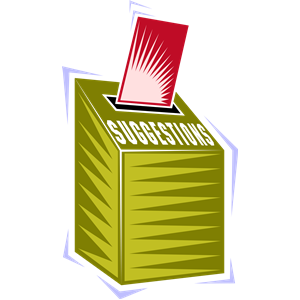 Suggestion Box Clipart Cliparts Of Suggestion Box Free Download  Wmf
